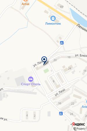 ГОСТИНИЦА РИФ на карте Хасана