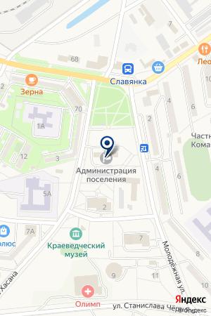 АДМИНИСТРАЦИЯ МОРСКОЙ ПОРТ КОММЕРЧЕСКИЙ на карте Хасана