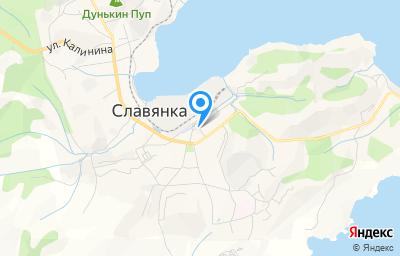 Местоположение на карте пункта техосмотра по адресу Приморский край, пгт Славянка, ул 50 лет Октября, влд 3А