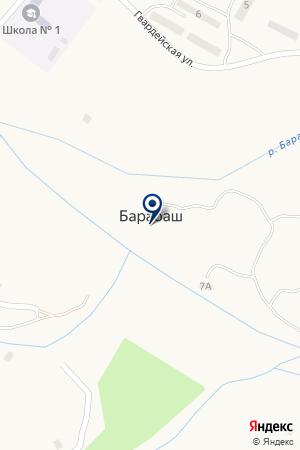 БАРАБАШСКИЙ УЧАСТОК ХАСАНСКОГО ФИЛИАЛА К ПРИМТЕПЛОЭНЕРГО на карте Хасана