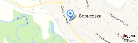 Поликлиника на карте Борисовки