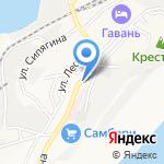 Лесная поляна на карте Владивостока