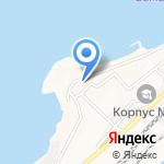 Мыс Купера на карте Владивостока