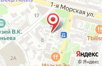 Схема проезда до компании Тонус-Дв во Владивостоке