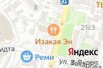 Схема проезда до компании AVANT-scene во Владивостоке