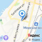 Коне на карте Владивостока
