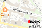 Схема проезда до компании Стандарт-Оценка во Владивостоке