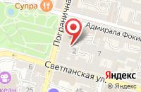 Схема проезда до компании Вл Новости во Владивостоке