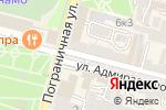 Схема проезда до компании Юничел во Владивостоке