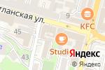 Схема проезда до компании Компания Джаз во Владивостоке