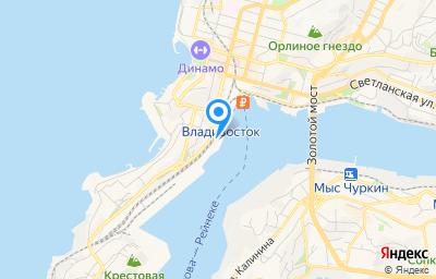 Местоположение на карте пункта техосмотра по адресу г Владивосток, ул Нижнепортовая, д 3