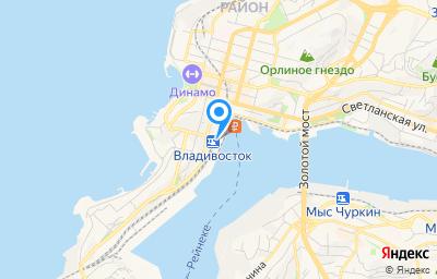 Местоположение на карте пункта техосмотра по адресу г Владивосток, ул Нижнепортовая, д 1