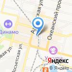 Альфа-Банк на карте Владивостока