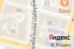 Схема проезда до компании Уральские самоцветы во Владивостоке