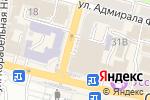 Схема проезда до компании Fabrizia во Владивостоке