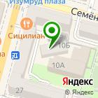 Местоположение компании Архитектурная студия Ильинской