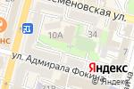 Схема проезда до компании ЭС-ЭМ-ПИ ДВ плюс во Владивостоке