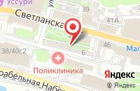 Схема проезда до компании Урал-Пресс Владивосток во Владивостоке