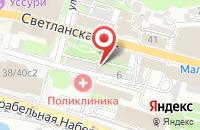 Схема проезда до компании Союз во Владивостоке