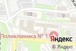 Схема проезда до компании Раз в неделю во Владивостоке