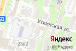 Схема проезда до компании Sub Club & ФК Усенко во Владивостоке