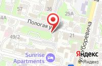 Схема проезда до компании Региональный информационный портал во Владивостоке