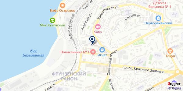 АДЛ на карте Владивостоке