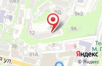 Схема проезда до компании Хижина в Куровском