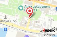 Схема проезда до компании Альманах «Рубеж» во Владивостоке