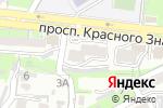Схема проезда до компании АккуЗон во Владивостоке
