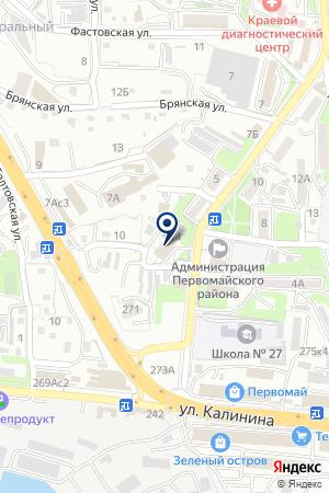 2 отряд ФПС на карте Владивостока