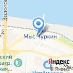 Аттика на карте Владивостока