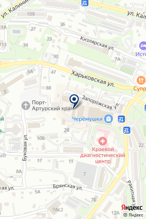 Конус Лтд на карте Владивостока