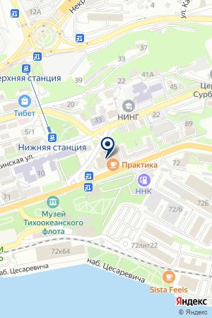 РестоСервис на карте Владивостока