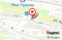 Схема проезда до компании Деловой Мир во Владивостоке