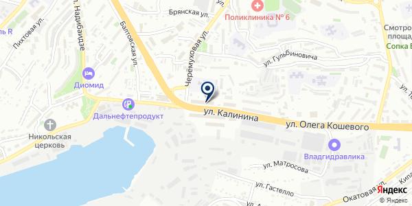Джем на карте Владивостоке
