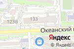 Схема проезда до компании Fensys во Владивостоке