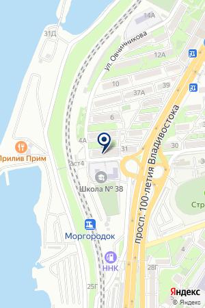 КВОЛИТЕХ на карте Владивостока