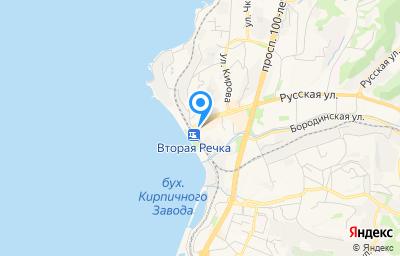 Местоположение на карте пункта техосмотра по адресу г Владивосток, ул Русская, д 2А
