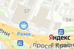 Схема проезда до компании Байт во Владивостоке