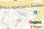 Схема проезда до компании Миа во Владивостоке