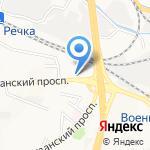 Тихоокеанский государственный медицинский университет на карте Владивостока