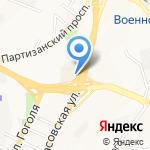 Шатун на карте Владивостока