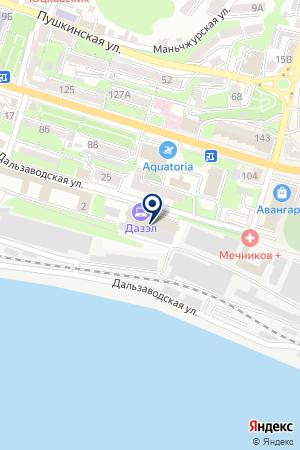 Резинотехника на карте Владивостока