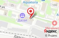 Схема проезда до компании Торговая Компания Дазэл во Владивостоке