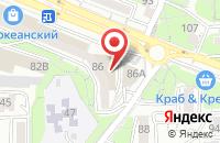 Схема проезда до компании Молодежно-развлекательный комплекс  во Владивостоке