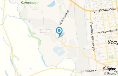 Местоположение на карте пункта техосмотра по адресу Приморский край, г Уссурийск, ул Сельскохозяйственная, зд 16А
