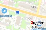 Схема проезда до компании Дом цветов во Владивостоке