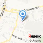 Родильный дом №1 на карте Владивостока