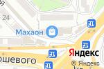Схема проезда до компании Красотка во Владивостоке